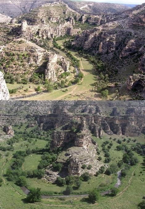 Ulubey Kanyonu tabiat park� ilan edildi