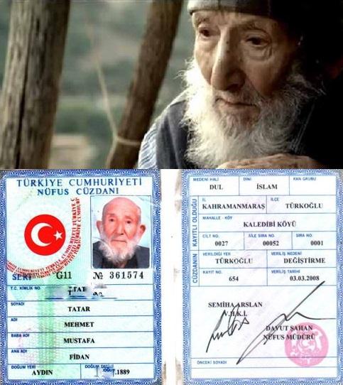 MEHMET DEDE 124 YAŞINDA VEFAT ETTİ