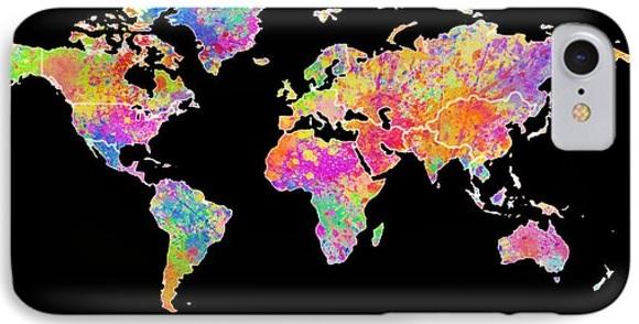 Renklendikçe Küçüldü Dünya